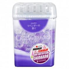 Nagara Aqua Beads Арома-поглотитель запаха гелевый с ароматом лаванды, 360 гр