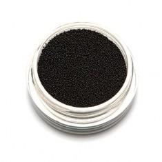 TNL, Бульонки супермелкие, черные,  0,2 мм TNL Professional