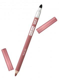 Карандаш для губ с аппликатором Чайный розовый PUPA
