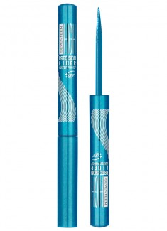 Подводка для век водостойкая Ярко-голубой SEVENTEEN