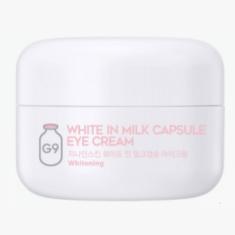 крем для глаз осветляющий с молочными протеинами berrisom g9 white in milk capsule eye cream