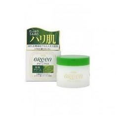 увлажняющий крем для сухой кожи лица meishoku green plus aloe moisture cream