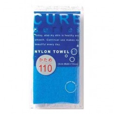 мочалка для тела жесткая (синяя) o:he cure nylon towel hard blue