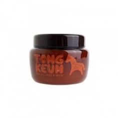 маска питательная для лица с лошадиным жиром baviphat urban dollkiss tongkeun golden horse oil pack