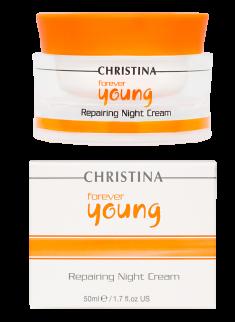 Forever Young Repairing Night Cream Christina Cosmetics