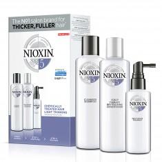 NIOXIN Набор для ухода за жесткими натуральными и окрашенными волосами, с намечающейся тенденцией к выпадению Система 5