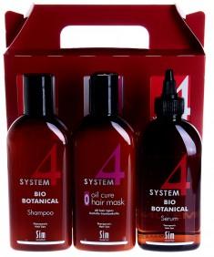 SIM SENSITIVE Комплекс от выпадения волос / SYSTEM 4 3*200 мл