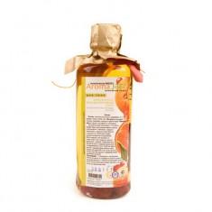AROMA JAZZ Масло массажное жидкое для тела Землянично-мандариновый джаз 350 мл