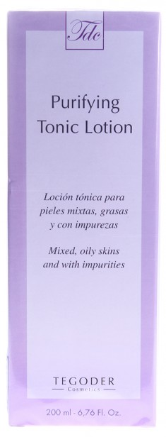 TEGOR Тоник очищающий для жирной кожи / Purifying Tonic Lotion COMPLEMENTARY 200 мл