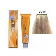 MATRIX UL-VV краска для волос, глубокий перламутровый / СОКОЛОР БЬЮТИ ULTRA BLONDE 90 мл