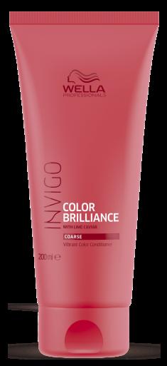 WELLA PROFESSIONALS Бальзам-уход для защиты цвета окрашенных жестких волос / Brilliance 200 мл