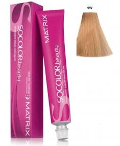 MATRIX 9W краска для волос, теплый очень светлый блондин / СОКОЛОР БЬЮТИ 90 мл