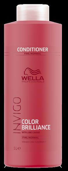 WELLA PROFESSIONALS Бальзам-уход для защиты цвета окрашенных нормальных и тонких волос / Brilliance 1000 мл