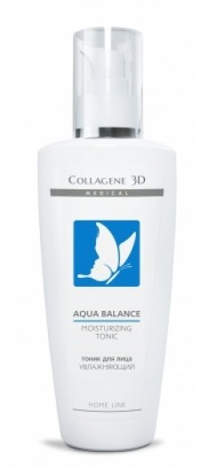 MEDICAL COLLAGENE 3D Тоник увлажняющий для лица / Aqua Balance 250 мл