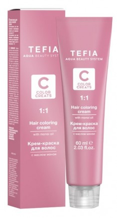 TEFIA 5.0 краска для волос, светлый брюнет / Color Creats 60 мл