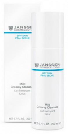 JANSSEN COSMETICS Эмульсия очищающая нежная / Mild Creamy Cleanser DRY SKIN 200 мл