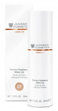 JANSSEN COSMETICS Крем тональный стойкий с UV-защитой SPF 15 для всех типов кожи, порцелан 30 мл
