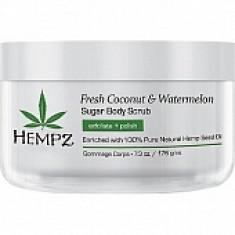 HEMPZ Скраб для тела, кокос и арбуз / Fresh Coconut & Watermelon Sugar Body Scrub 176 г