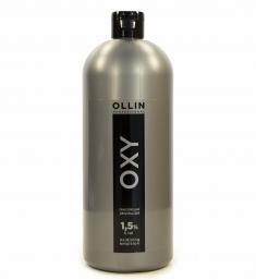 OLLIN PROFESSIONAL Эмульсия окисляющая 1,5% (5vol) / Oxidizing Emulsion OLLIN OXY 1000 мл