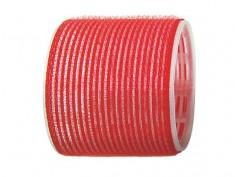 SIBEL Бигуди-липучки красные 70 мм 6 шт/уп