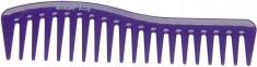 DEWAL BEAUTY Гребень волна фиолетовый 18 см