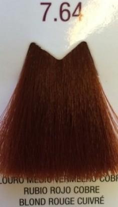 FARMAVITA 7.64 краска для волос, блондин медно-красный / LIFE COLOR PLUS 100 мл