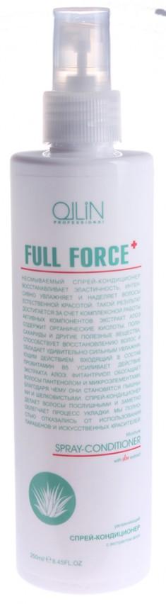 OLLIN PROFESSIONAL Кондиционер-спрей увлажняющий с экстрактом алоэ / FULL FORCE 250 мл