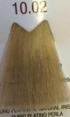 FARMAVITA 10.02 краска для волос, платиновый блондин жемчужный / LIFE COLOR PLUS 100 мл