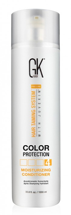 GKHAIR (GLOBAL КЕRATIN) Кондиционер увлажняющий с защитой цвета волос / Moisturizing Conditioner Color Protection 1000 мл GKHair (Global Кеratin)