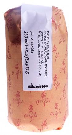 DAVINES SPA Масло без масла для естественных послушных укладок / MORE INSIDE 250 мл
