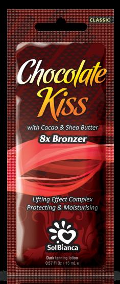 SOLBIANCA Крем с маслом какао и маслом ши для загара в солярии / Chocolate Kiss 15 мл
