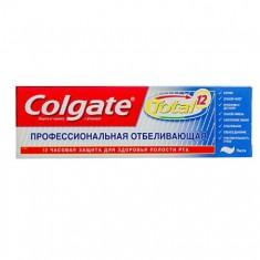 Колгейт Зубная паста TOTAL12 Профессиональная отбеливающая 75мл COLGATE