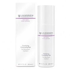Янсен/Janssen Очищающий гель для жирной кожи 200 мл