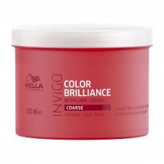 Wella Invigo Color Brilliance Маска-уход для защиты цвета окрашенных жестких волос 500мл