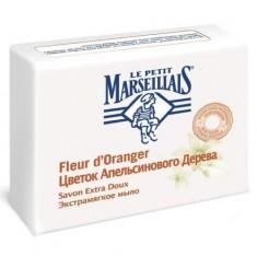 Маленький Марселец мыло экстрамягкое цветок апельсинового дерева 90г LE PETIT MARSEILLAIS