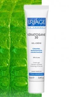 Uriage (Урьяж) Кератозан Кератозан-30 гель-крем для загрубевшей шелушащейся кожи 40 мл