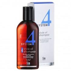 Sim Sensitive Система 4 шампунь терапевтический №4 для жирных волос, чувствительной, раздраженной кожи головы 215мл