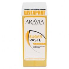 Aravia Паста сахарная для депиляции в картридже Медовая очень мягкой консистенции 150г Aravia professional