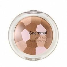 бронзатор the saem saemmul luminous multi shading