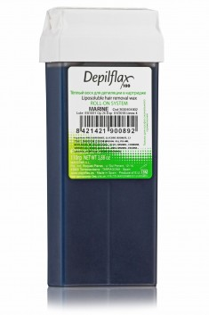 DEPILFLAX 100 Воск для депиляции в картридже, морской 110 г