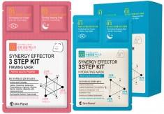 трехшаговый комплекс для ухода за лицом mijin skin planet synergy effector 3step kit