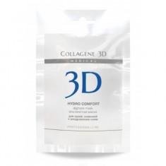 Коллаген 3Д HYDRO COMFORT Альгинатная маска для лица и тела с экстрактом алое вера 30 г Collagene 3D