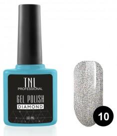 TNL PROFESSIONAL 10 гель-лак для ногтей Морион / Diamond 10 мл