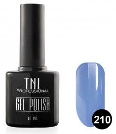 TNL PROFESSIONAL 210 гель-лак для ногтей, васильковый 10 мл