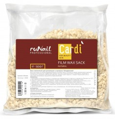 RUNAIL Воск пленочный в гранулах, натуральный / Cardi 500 г