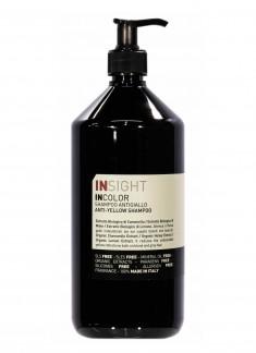 INSIGHT Шампунь для нейтрализации желтого оттенка волос / ANTI-YELLOW 900 мл
