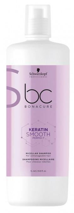 SCHWARZKOPF PROFESSIONAL Шампунь мицеллярный для гладкости волос / BC Keratin Smooth Perfect 1000 мл