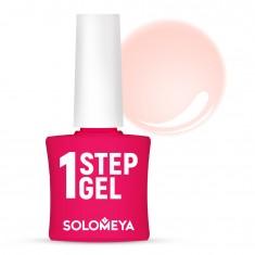 SOLOMEYA Гель-лак однофазный для ногтей, 6 зефир / One Step Gel Marshmallow 5 мл