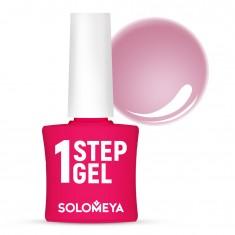SOLOMEYA Гель-лак однофазный для ногтей, 7 бархат / One Step Gel Velvet 5 мл