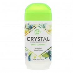 CRYSTAL Дезодорант твёрдый невидимый, ваниль и жасмин / Crystal Body Deodorant 70 г